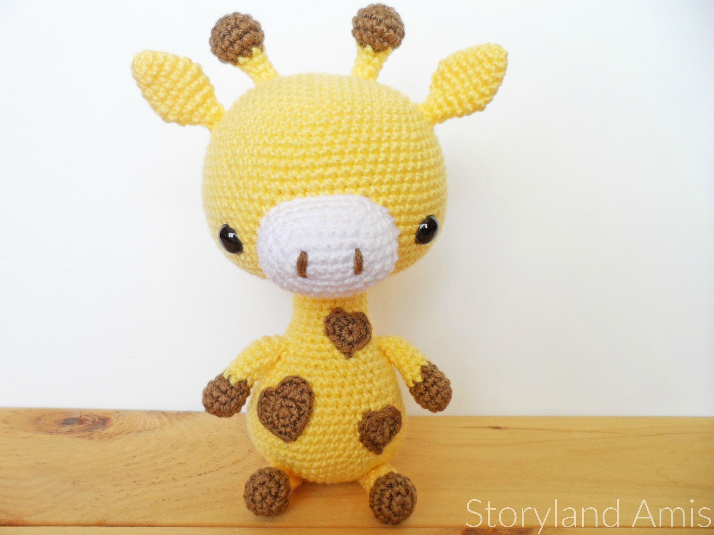 Amigurumi Cute Giraffe Free Pattern | Crochet giraffe pattern ... | 2250x3000