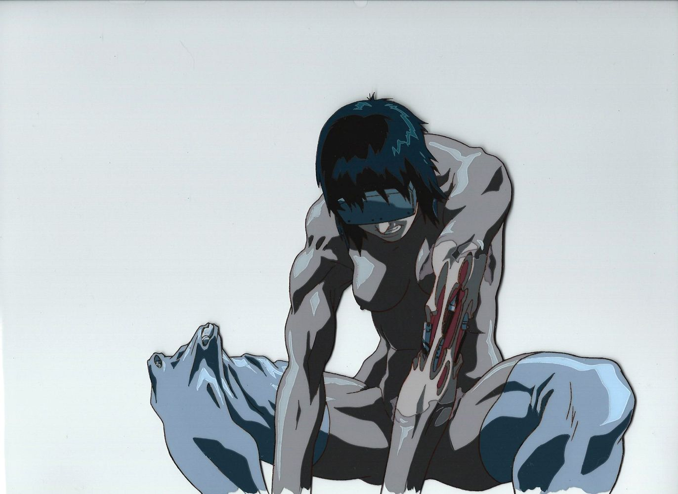 Anime Cel Showcase Ghost in the Shell