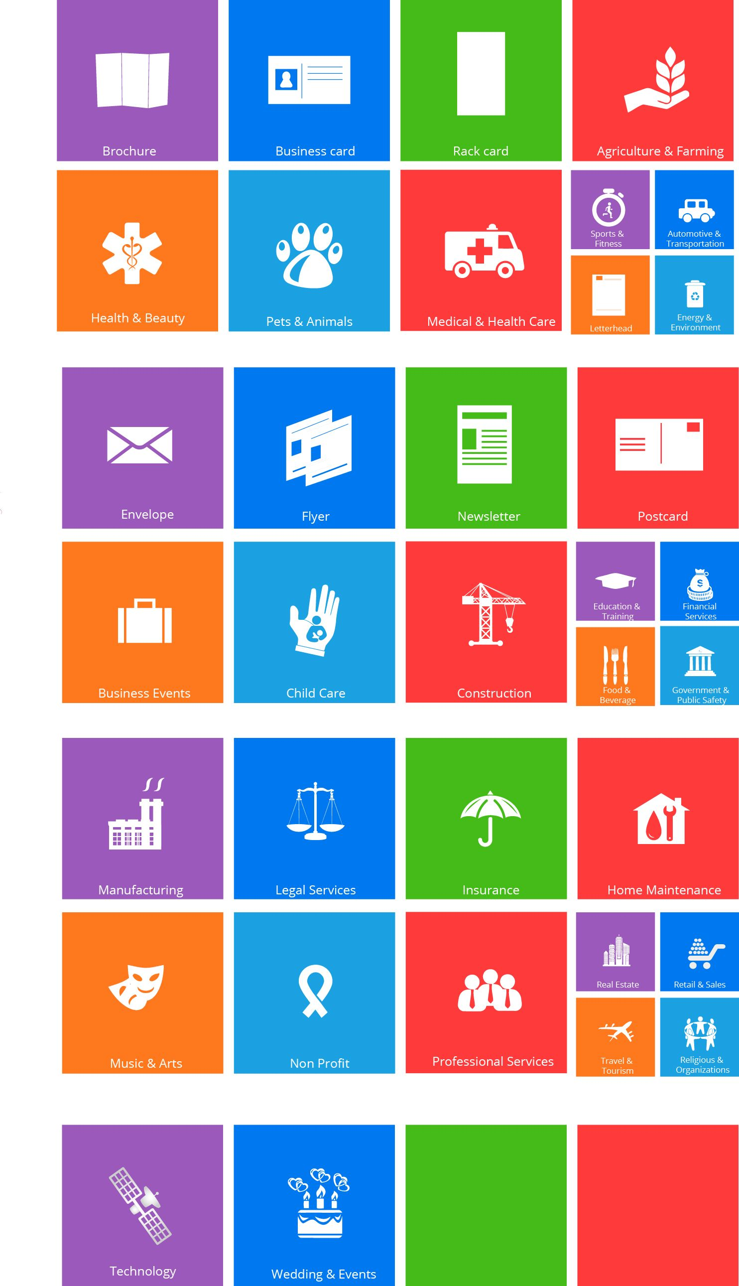 I can design icons in different style like * Metro style