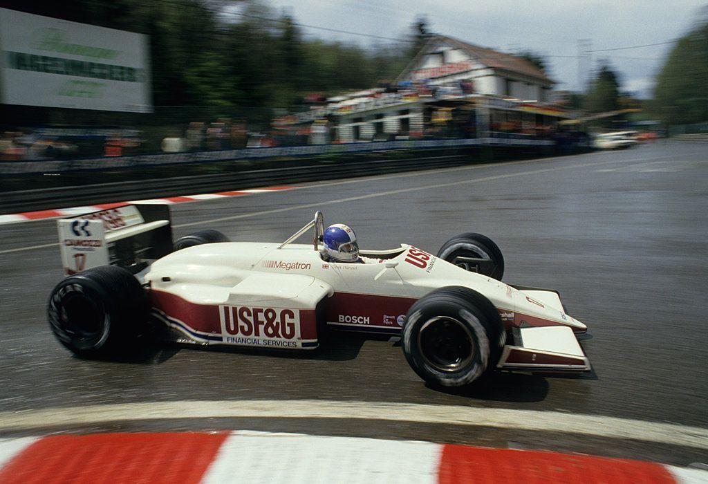 Derek Warwick Arrows Megatron BMW Turbo L Heini Mader Racing Components