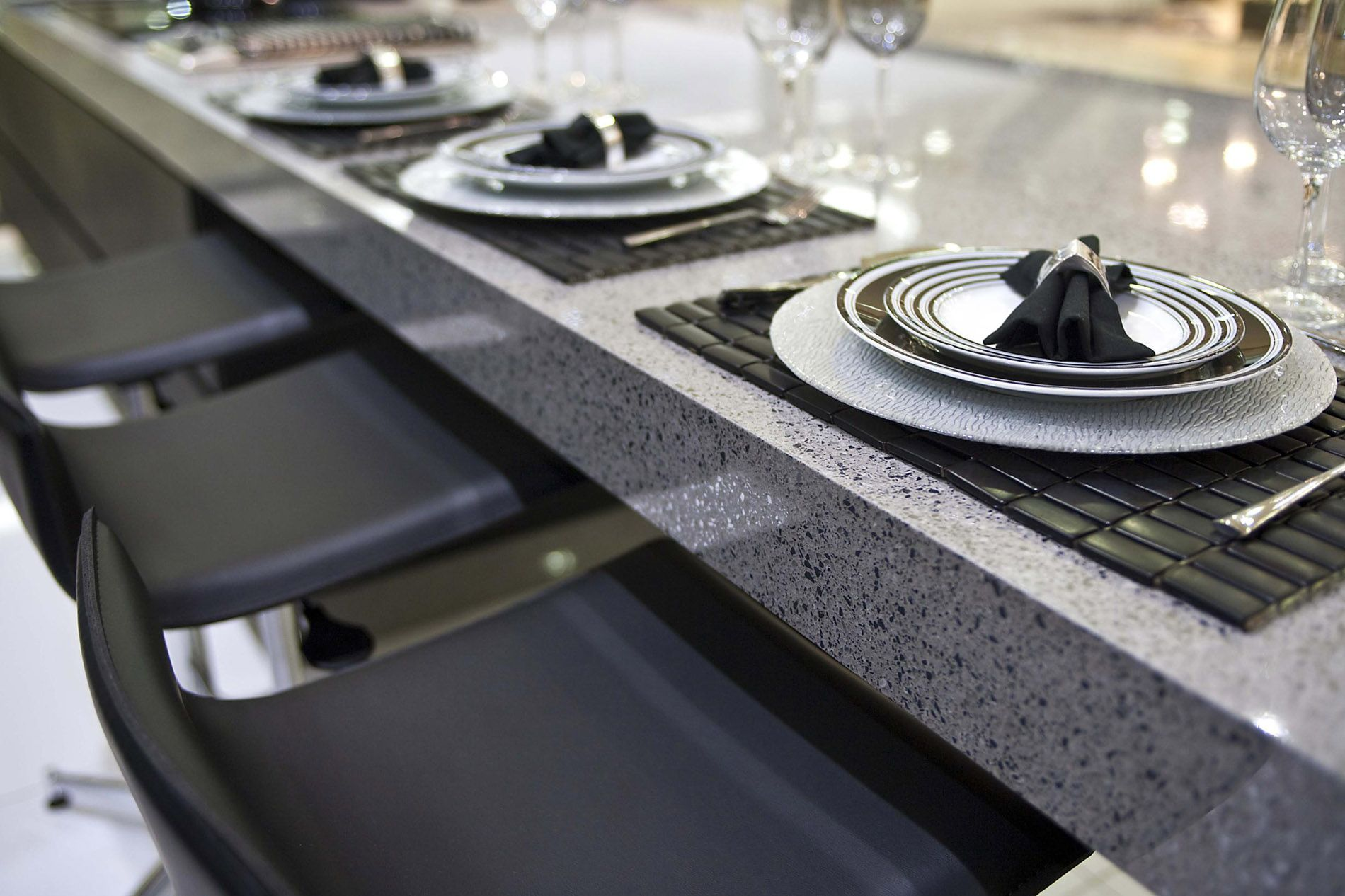 Silestone STEEL At Your Kitchen Table.