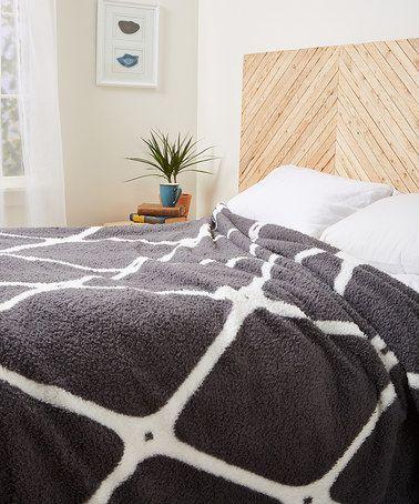 Love this Gray Adell Blanket on #zulily! #zulilyfinds