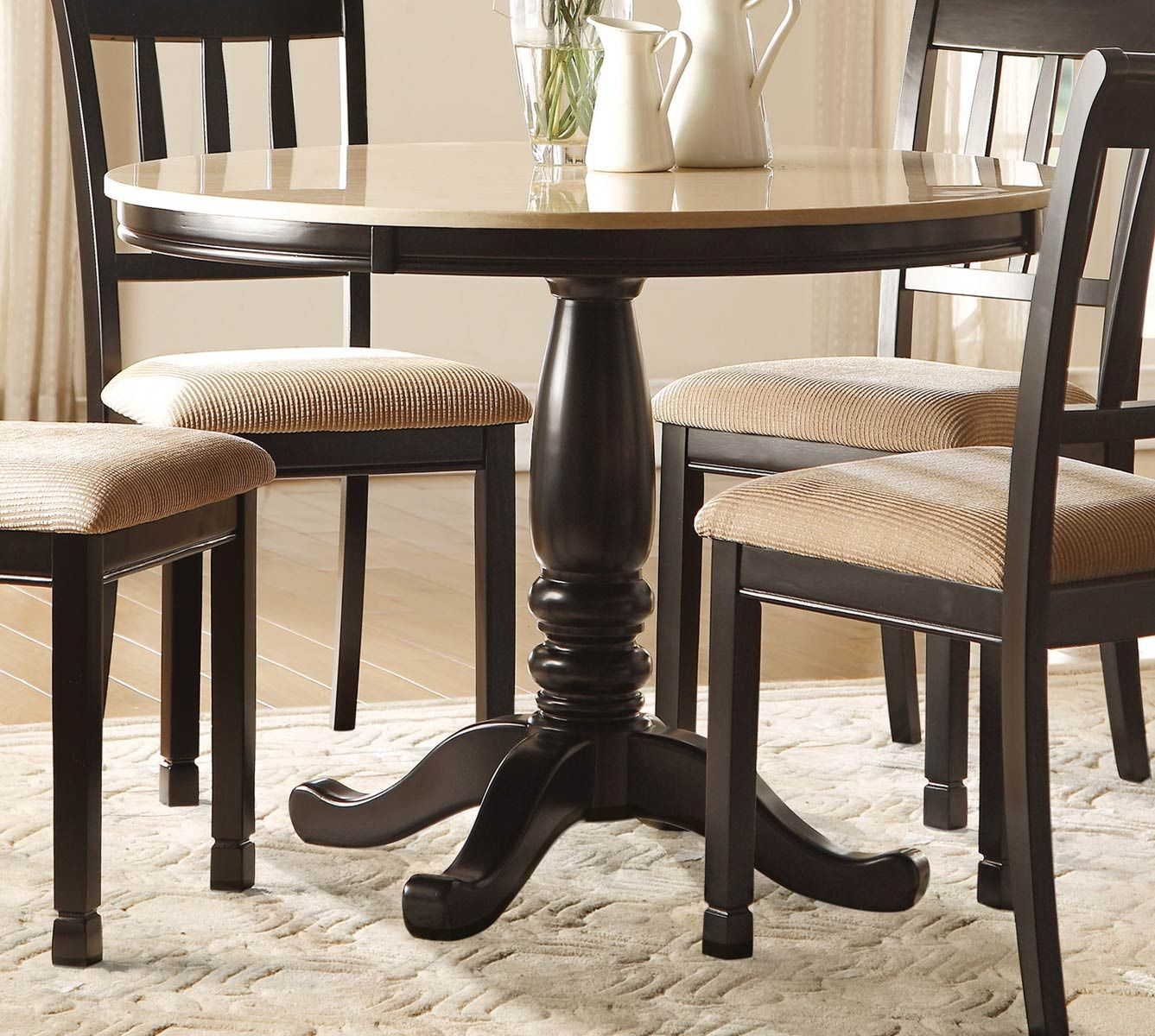 pin by annora on round end table table round dining table dining rh pinterest ca