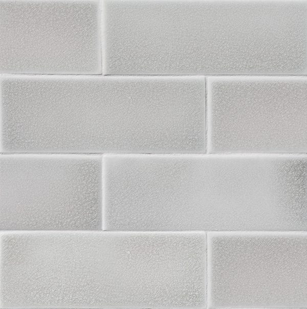 3x8 Silver Shower Wall Tile Front Wall Tiles Grey Subway Tiles