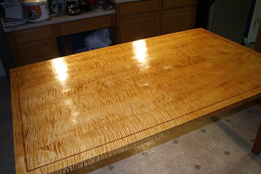 curly maple table google search curly maple butcher block rh pinterest com