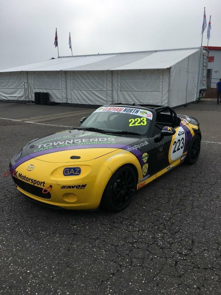 Ad Mazda MX5 BRSCC Super Cup Race Car Mazda mx5, Race
