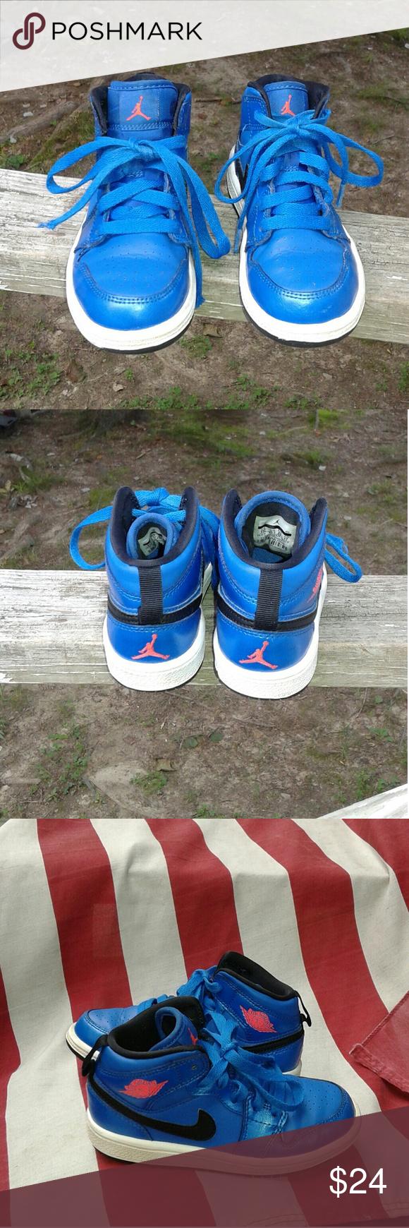 b99b7429869 Selling this Nike Air Jordan Toddler girls shoe s size 11c on Poshmark! My  username is  alicesales.  shopmycloset  poshmark  fashion  shopping  style  ...