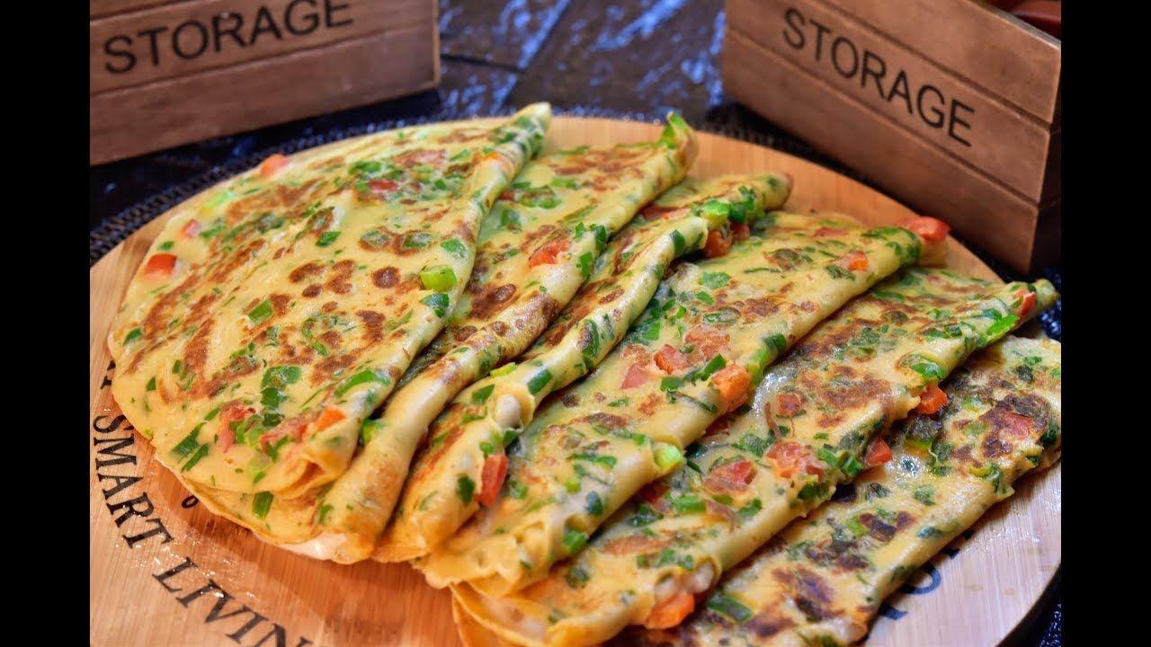 مطبخ كريب بالخضر وجبة متكاملة للغذاء أو العشاء بالحليب الفلافل والجبن سهل ولذيذ Cooking Recipes Recipes Cooking