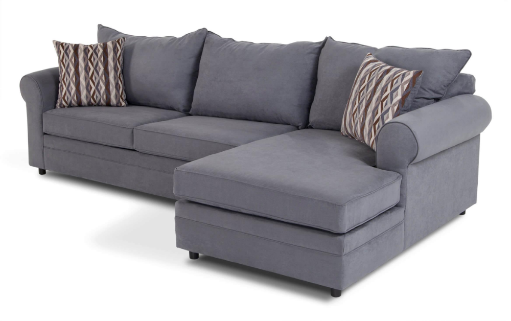 Peachy Venus Blue 2 Piece Left Arm Facing Sectional 3C 2019 In Pabps2019 Chair Design Images Pabps2019Com