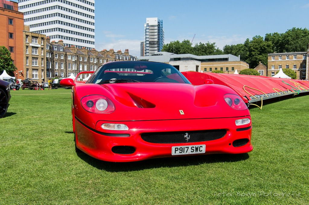 "Ferrari F50 - 1996 ""The F50 is part of an illustrious li... -"