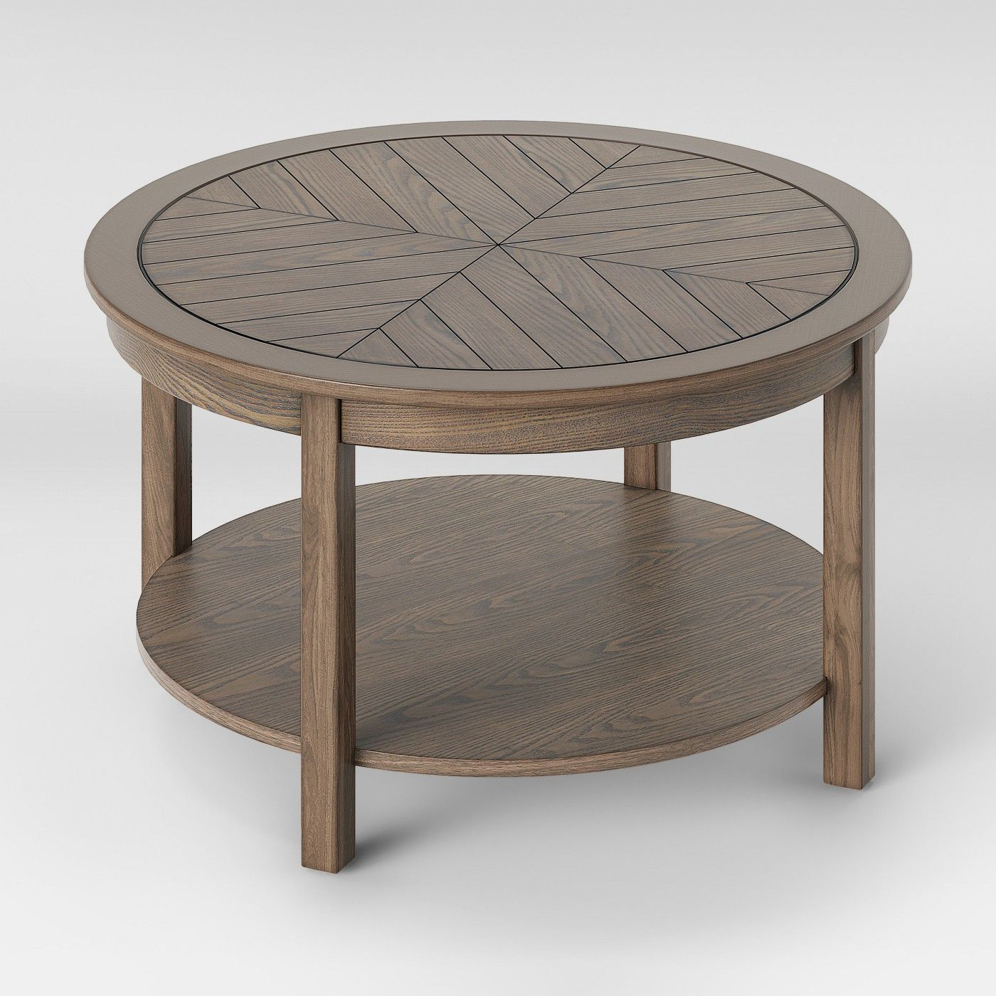Eastford V Pattern Coffee Table Brown Threshold Image 3 Of 5 Trending Coffee Table Table Coffee Table [ 1400 x 1400 Pixel ]