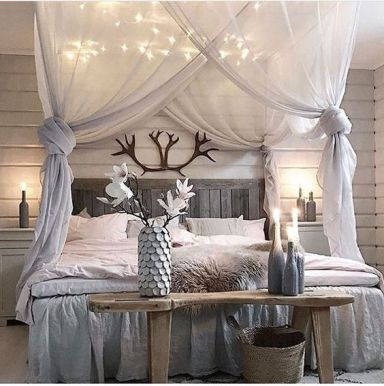Creative And Simple DIY Bedroom Canopy Ideas18