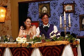 A Haunted Mansion Wedding