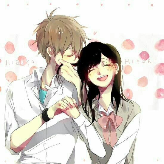 Hibiya and Hiyori have a happy future