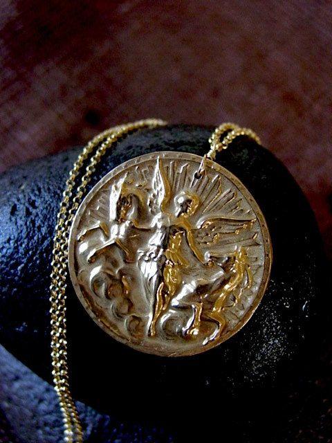 Nemesis necklace by VisaVisJewelryLA on Etsy