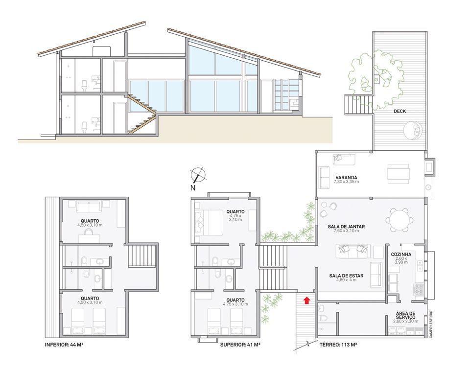 Casa incorpora rvore no deck e se beneficia de sua sombra - Plantas de sombra ...