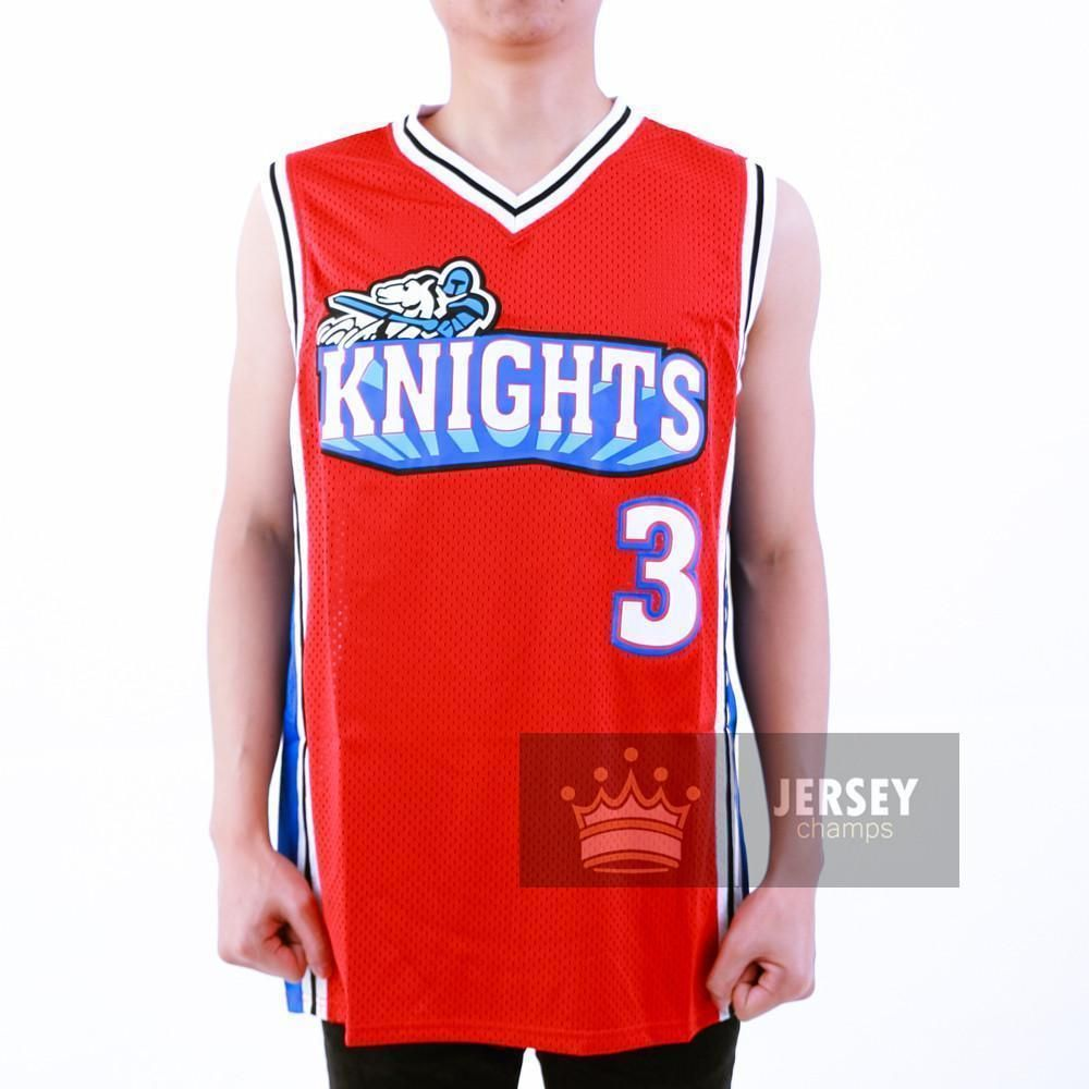 pretty nice 65811 8447a Calvin Cambridge Basketball Jersey Los Angeles Knights Red ...