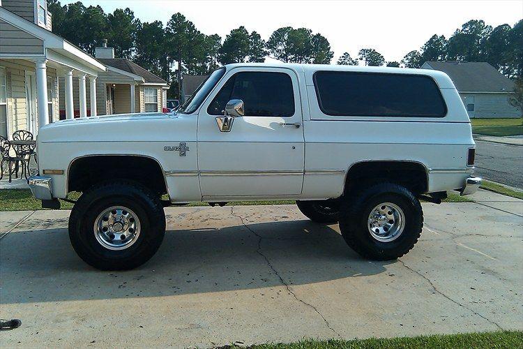 87 Chevy Blazer Classic Chevy Trucks Chevrolet Blazer Chevy Blazer K5