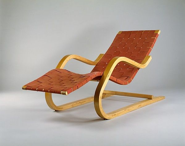 Alvar Aalto 39 Chaise Longue The Met Art Nouveau Furniture Art Deco Bathroom Furniture Diy