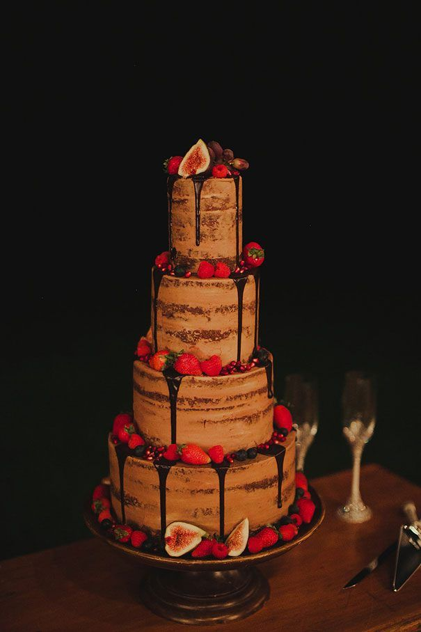 Julia Kieran Cake Tier Layer Nakedcake Rustic Fig