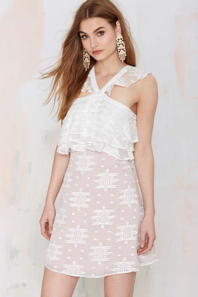 The Jetset Diaries Cherie Embroidered Dress - Day | Going Out | LWD