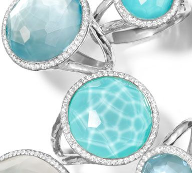 Ippolita Rings from the NEW Stella Collection are now at London Jewelers! Please call (516) 627-7475 for more information!