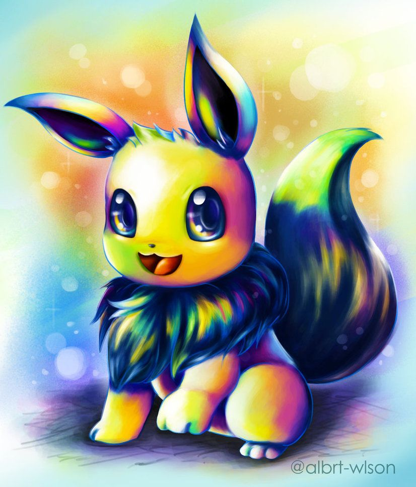 eevee__rainbow_color__by_albrt_wlson-da2swng.jpg (826×968)