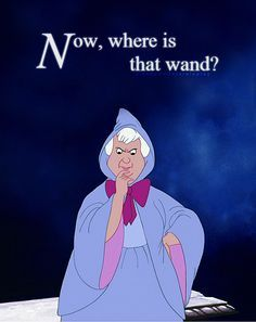 Bibbidi Bobbidi Boo Wands Supernatural Deity In Cinderalla