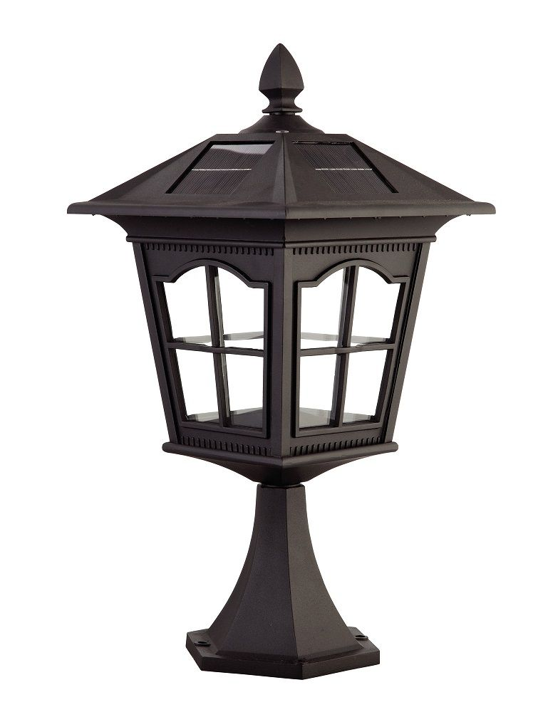Outdoor Solar Light Available In Black Finish Specification Number Of Lamps 6 Wattage 1 2 Height 20 Width 9 875 Solar Wall Lights Solar Lights Outdoor Lighting