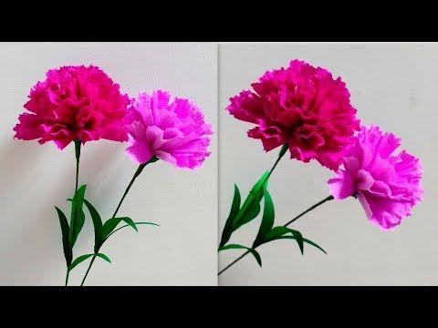 Pin De Cristianaferrari En Flores De Papel Con Imagenes Flores Pequenas Como Hacer Flores De Papel Flores