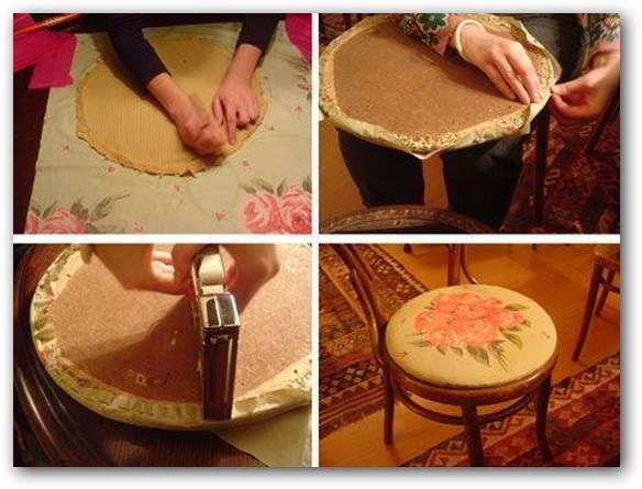 Im genes sobre tapizar sillas ji pinterest tapizar for Telas tapiceria ikea