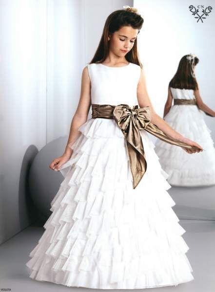 Vestidos comunion modernos nina