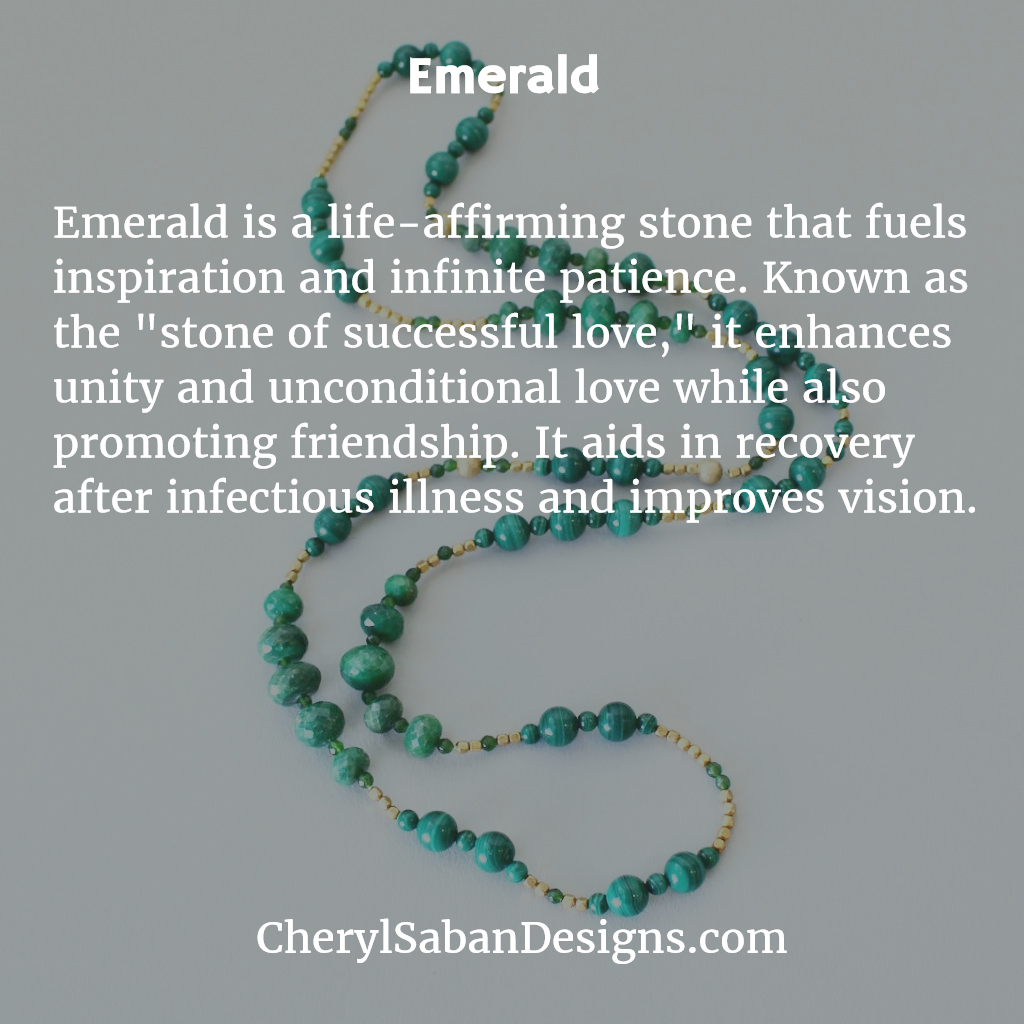 5f50f6530b6cf Learn about the healing properties of #Emerald. | #GemstoneMeanings ...