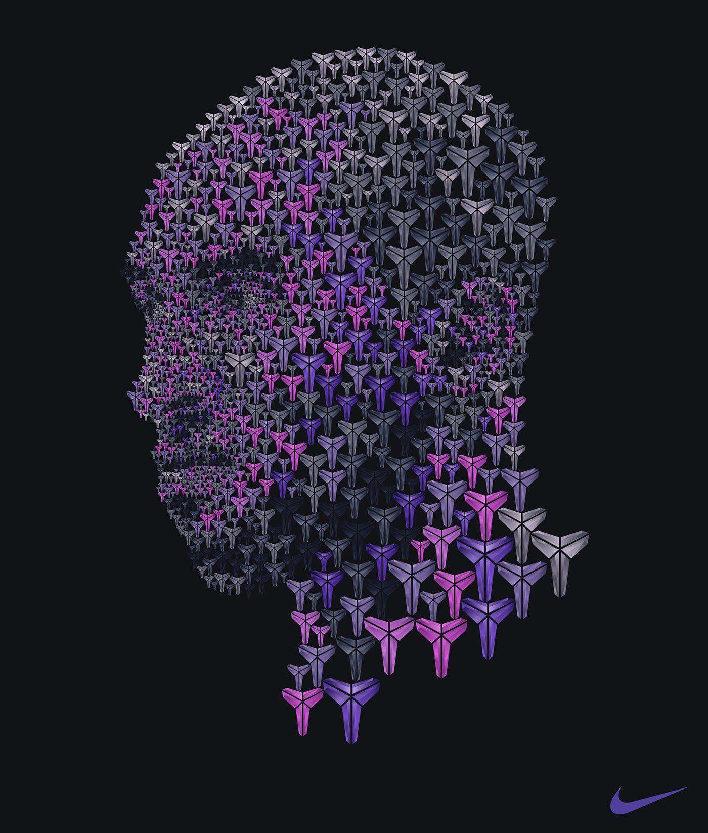 Conceptual portrait by artist Ziarekenya Smith using a