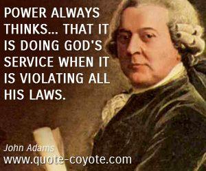 John Adams Quotes Doofus  The Ambiguous Truth  Pinterest  John Quincy Adams Quotes
