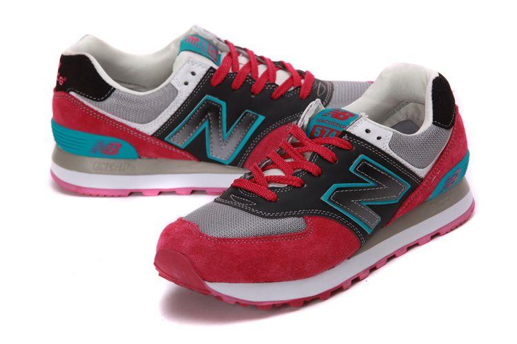 New Balance Men 574 Rde Black Blue Running Shoes $107.55 Save: 76% off