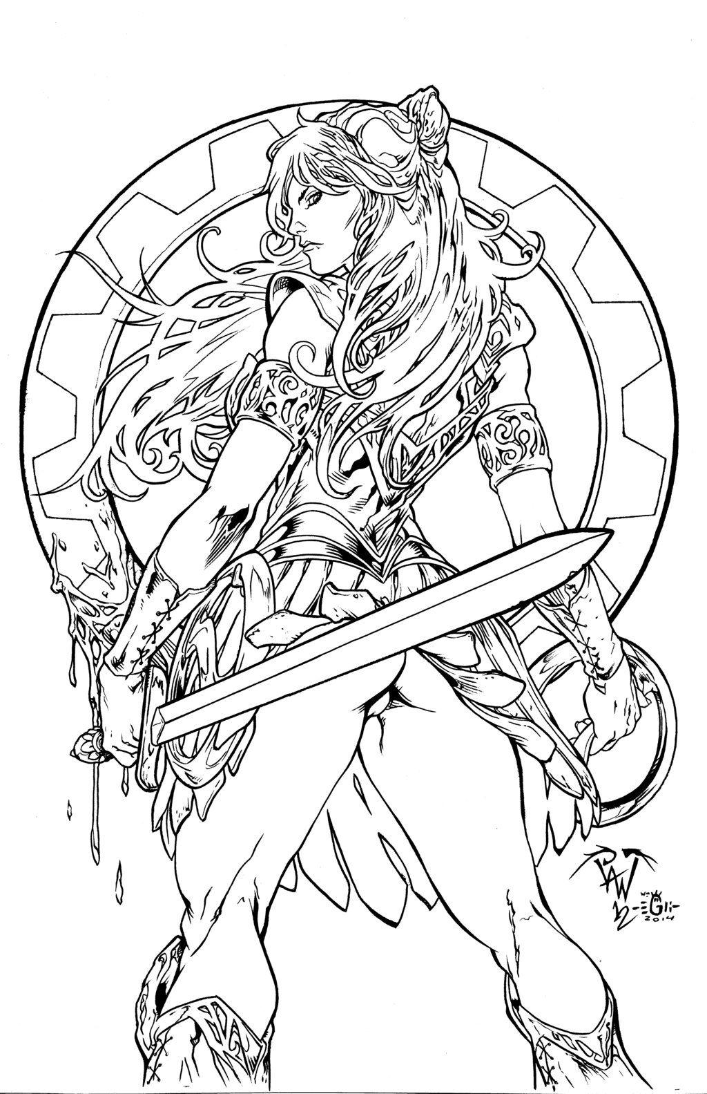 xena warrior princess  pant  egli  inkssurftiki on