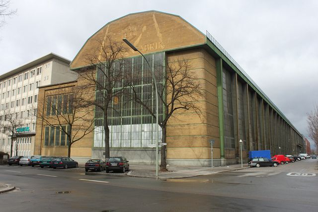 Berlin Aeg Turbine Factory Historic Architecture Pinterest