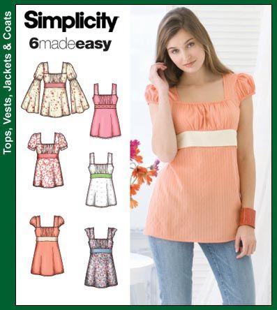 Simplicity Schnittmuster | Nähen | Pinterest | Simplicity ...