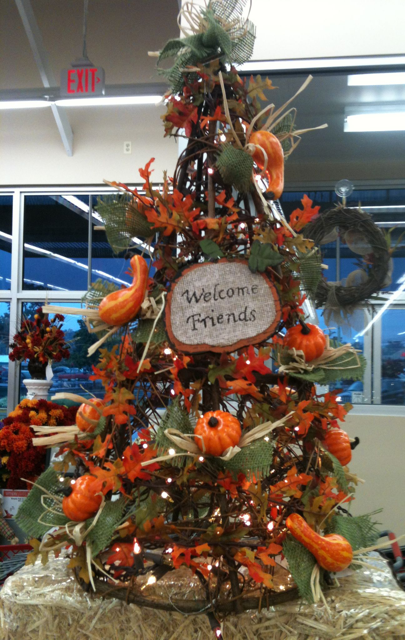 Fall Grapevine Tree designed by A.C. Moore Severna Park ...