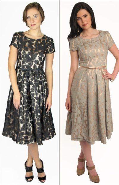 b7748f352b vestidos de festa para senhoras de 50 anos Modelo Midi