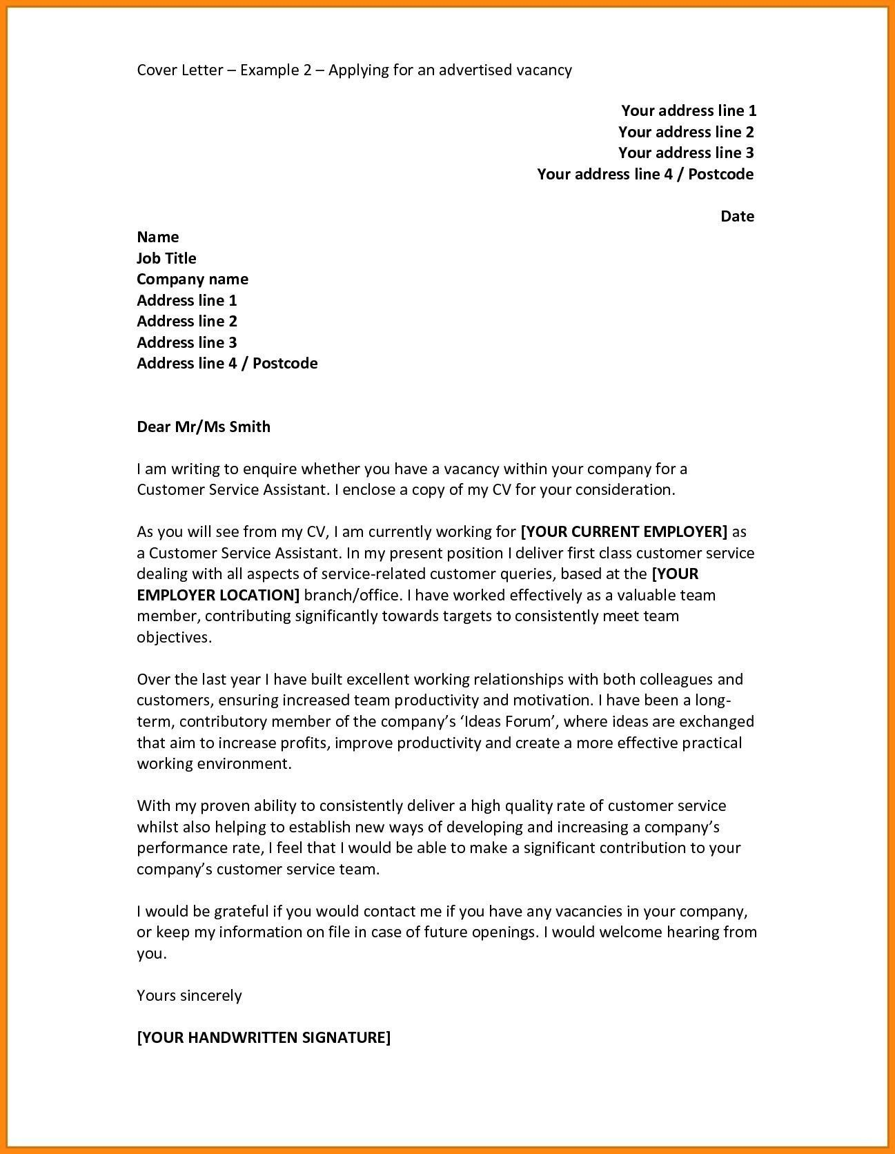 There Are Many Cover Letter Designs That You Can Use To Write Your