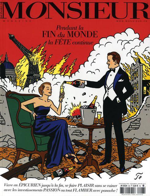 Rever De La Fin Du Monde : rever, monde, Décembre/janvier, 2012/2013, Monde,, Neuvième, Illustration