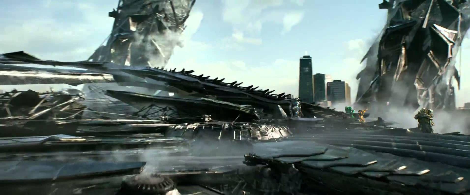 transformers 4 age of extinction - lockdown ship scene hd | cool