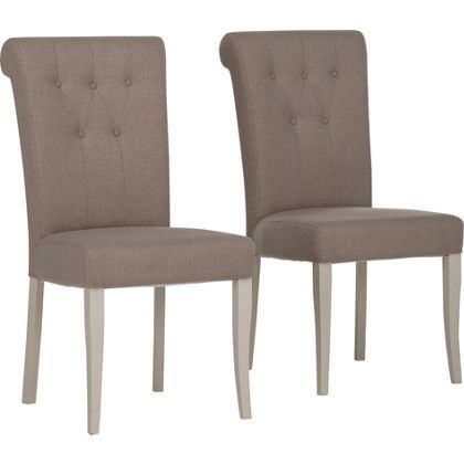 Schreiber Chalbury Pair Of Upholstered Dining Chairs Dining Room Dining Dining Chairs