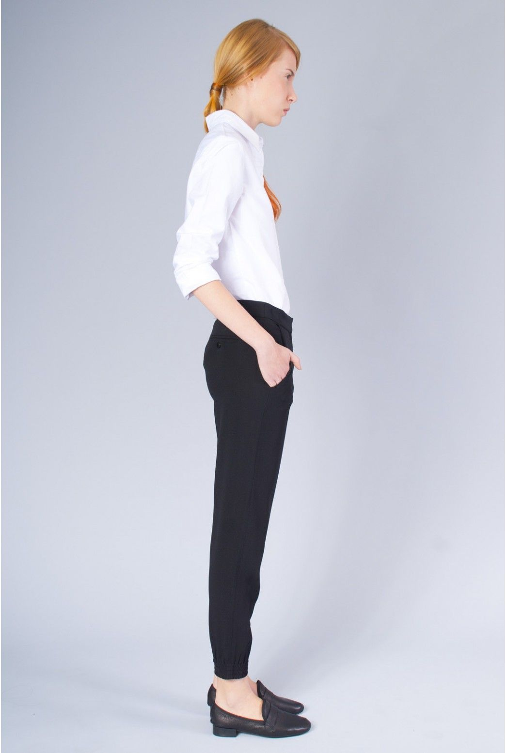 SPIRITUAL AMERICA | NEW YORK - Ankle Zip Trouser - Clothing