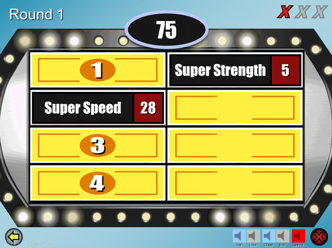 Family Feud  Powerpoint Template Download Best One I Could Find