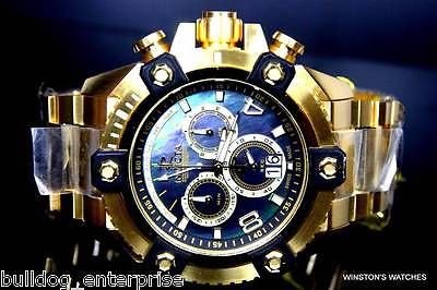 Mens invicta reserve #grand #arsenal #watch 63mm swiss chronograph gold black new,  View more on the LINK: 	http://www.zeppy.io/product/gb/2/262305994120/