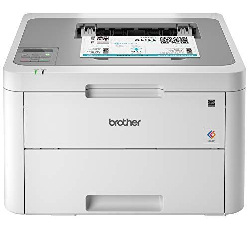 Brother HLL3210CW Compact Digital Color Printer Providing Laser Printer Quality Results w