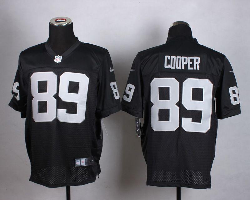 546bd4195af Oakland Raiders 89 Cooper Black Men Nike Elite Jerseys